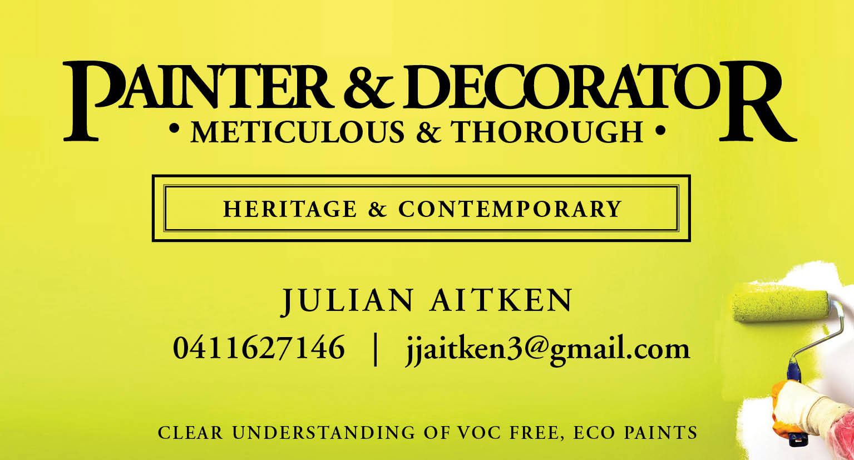 Julian Aitken Painting and Decorating