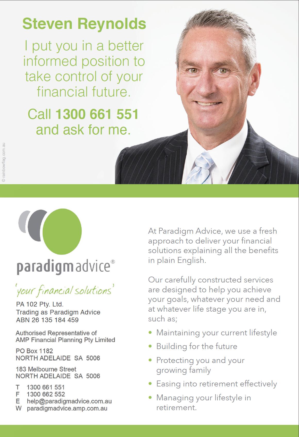 Paradigm Advice