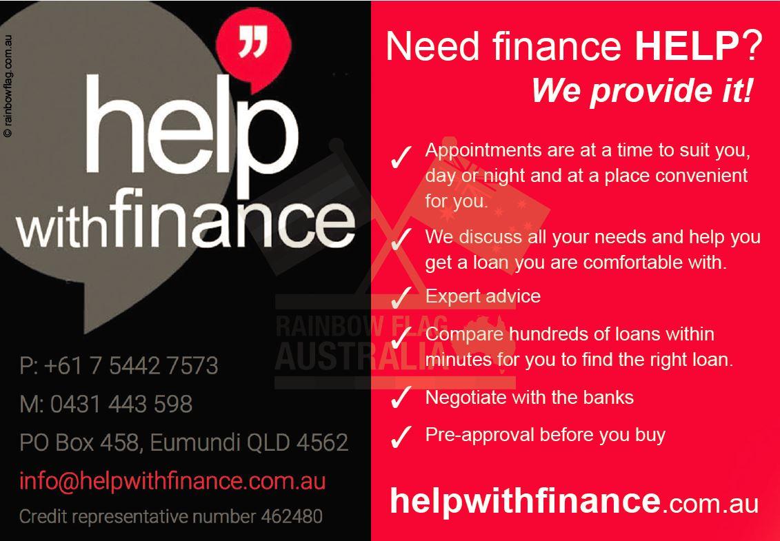 Help with Finance